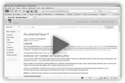 Installing MuraMediaPlayer